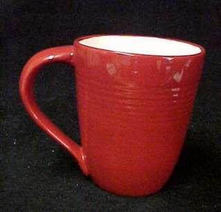 Hallmark Red White Snow Snowflake Christmas Mug Cup