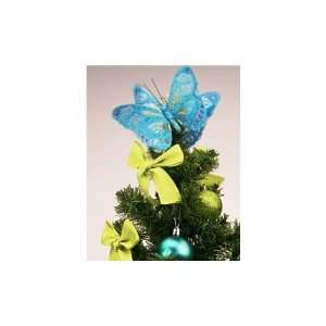 Simply Home 2 1/2 ft. Decorated Christmas Tree   Blue & Green