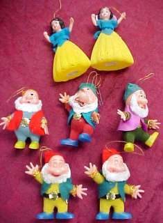 Vintage Walt Disney Snow White Hong Kong Ornaments