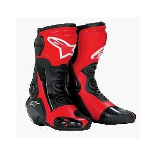MX Plus Racing Boot , Color Black/Red 20512NR40 Automotive