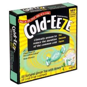 Cold Eeze, Lozenge Green Tea Honey Grocery & Gourmet Food