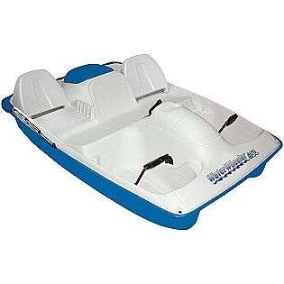 Seat Pedal Boat Teal  Water Wheeler Fitness & Sports Fishing Boats