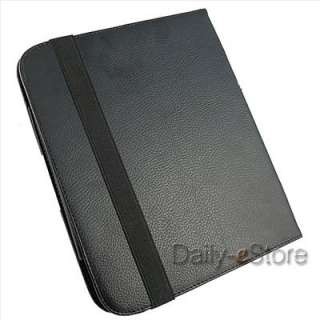 Leather Case Cover+Screen Protector+Stylus Pen for HP TouchPad