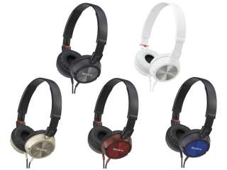 OFFICIAL Sony Stereo Headphone MDR ZX300 B from Japan