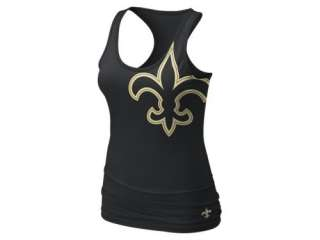 Nike Big Logo Tri Blend (NFL Saints) Womens Tank Top