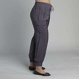 Womens Plus Size Cargo Pants  Notations Clothing Womens Plus Pants