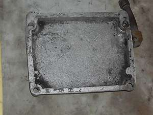 10hp kohler 241 engine oil pan for wheel horse