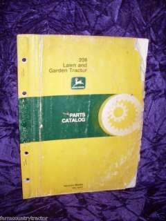 John Deere 208 Lawn & Garden Tractor Parts Manual