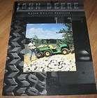 john deere gator utility vehicles dealer showroom sales brochure