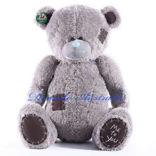 115CM GIANT HUGE BIG SOFT PLUSH PATCH TEDDY BEAR 45 |