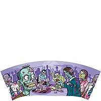 zombies make approving undead noises when you sink the ball in the cup