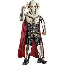 Star Wars General Grievous Deluxe Halloween Costume   Child Size