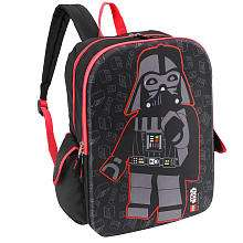 LEGO Star Wars 16 inch Dark Side Backpack   Black   Accessory