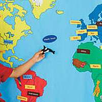 FAO Schwarz Big World Map   FAO Schwarz   Toys R Us