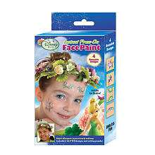 Instant Press On Face Paint   4 Designs   Disney Fairy Tinker Bell
