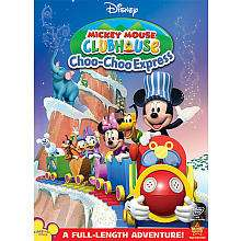 Disney Mickey Mouse Clubhouse Choo Choo Express DVD   Walt Disney