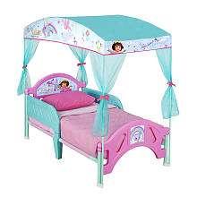 Dora the Explorer Canopy Toddler Bed   Delta   BabiesRUs