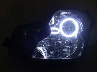 03 07 CADILLAC CTS CTS V LED ANGEL HALO KIT HEADLIGHT