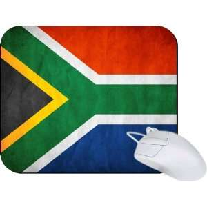 Rikki Knight South Africa Flag Mouse Pad Mousepad   Ideal Gift for all