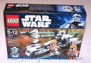 LEGO 7913 Clone Trooper Battle Pack STAR WARS toy NEW