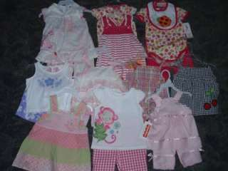 NEW Baby Girls Spring & Summer Outfits  3/6 Mo 6/9 Mo 12 Mo 18 Mo