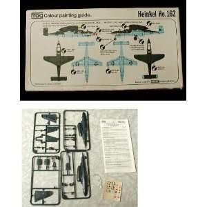 German Heinkel HE162 Jet Fighter Model airplane Kit