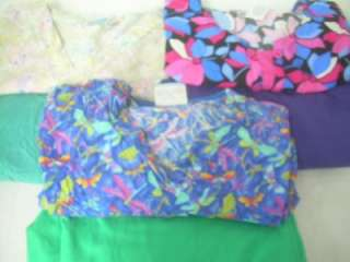 Medical Dental Scrubs Lot 9 Printed Outfits Sets Size 2XLARGE 2XL XXL