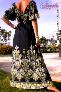 NEW Evening/Cocktail Kimono Style Women Long Maxi Dress Size M   XXL 6