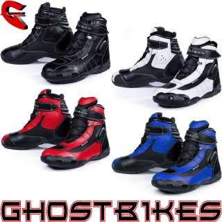 TECH SHORT MOTORCYCLE PADDOCK ANKLE MOTORBIKE SCOOTER MOPED CITY BOOTS
