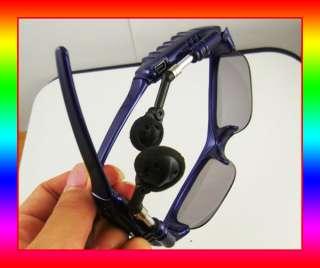 4GB 4G Blue Sunglasses Sun Glasses  Player + Case