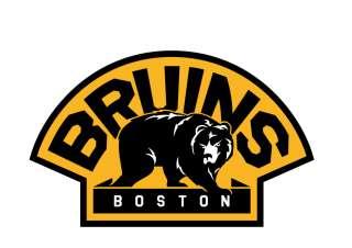 Boston Bruins NHL Hockey Car Bumper Sticker 5X4
