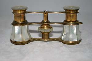 Vintage Mother Of Pearl Opera Glasses   Free Shipping US ONLY