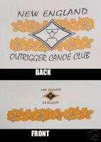 NEW ENGLAND OUTRIGGER CANOE CLUB T SHIRT