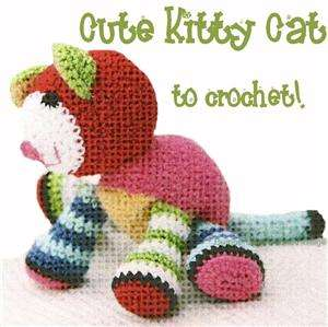 Crochet Pattern * Cute KITTY CAT * Nice Toy for Baby