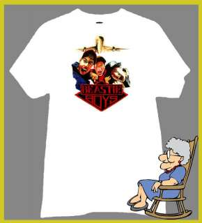 THE BEASTIE BOYS T SHIRT FIGHT FOR YOUR RIGHT RETRO