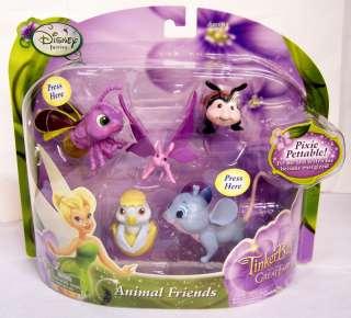 Disney Fairies TinkerBell Animal Friends Pixie Pettable