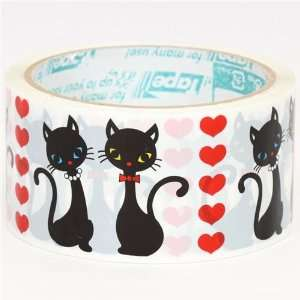 big cute black cats animals Deco Tape kawaii Toys & Games