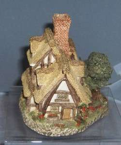 David Winter Pilgrims Rest Retired 1983 Hand Painted