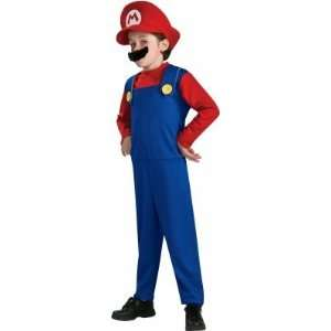 Costumes 186150 Super Mario Bros.  Mario Toddler Child Costume Office