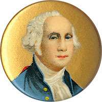 Circa 1910 George Washington Patriotic Pinback Button