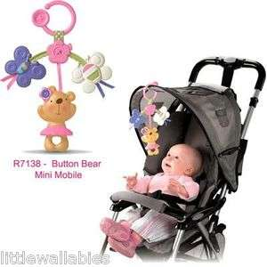 Little Buttons Linking Mobile Infant Baby Car Seat Stroller Toy