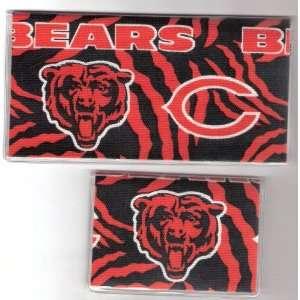 Checkbook Cover Debit Set NFL Chicago Bears