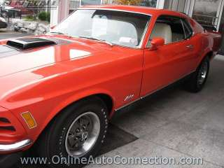 FORD  MUSTANG MACH I TEXAS INT. SPEED WAY PACE CAR in Ford