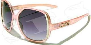 DG Eyewear Sunglasses Shades Womens Retro Light Blue
