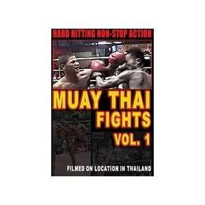 Muay Thai Fights Vol 1 DVD