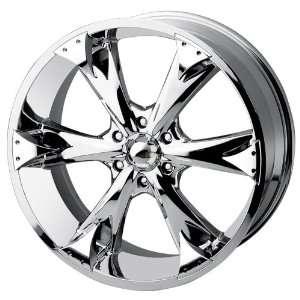 Baccarat Allure 2120 Chrome Wheel (22x9.5/6x136mm