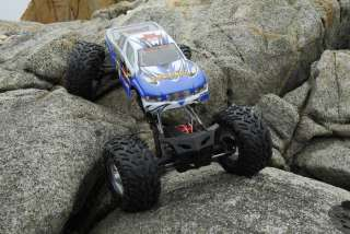 Electric RC Rock Crawler Truck 1/8 Car ROCKSLIDE SUPER