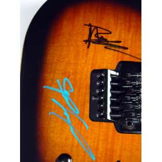 Dave Matthews Band Autographed Signed Guitar DMB  Autographed Sports
