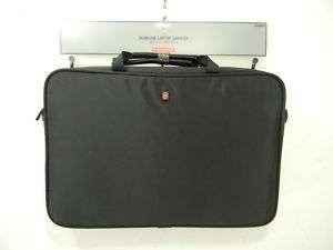 New Victorinox Swiss Army Luggage Slimline Laptop Carrier Logo Black