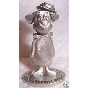 Spoontiques Pewter   Huckleberry Hound Figurine